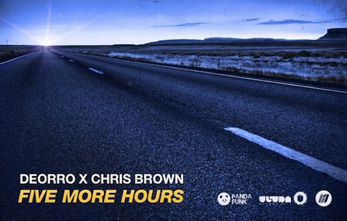 Chris brown set to makeover edm hit five hours you got put on